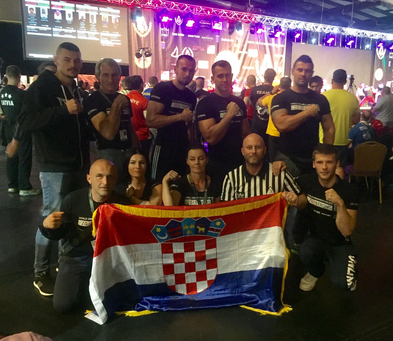 Hrvatski savez za obaranje ruke: Svjetsko prvenstvo u obaranju ruke 2017 - službeni rezultati