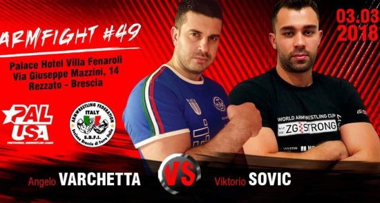 Armfight 49 Supermatch Brescia