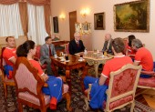 Meeting with President of Croatia
