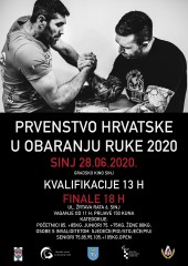 Croatian National Championship 2020 Sinj, Croatia