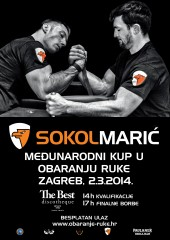 Sokol Maric - International Armwrestling Cup