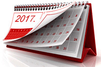 Competitions calendar